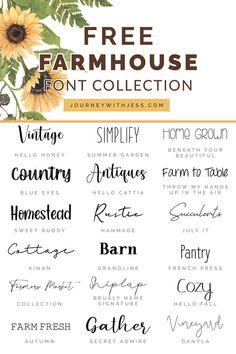 Fancy Fonts, Cool Fonts, Polices Cricut, Schriften Download, Farmhouse Font, Farmhouse Style, Cricut Explore Projects, Cricut Craft Room, Cricut Vinyl