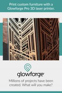 Meet Glowforge, the 3D laser printer that makes magical things at the push of a button. 3d Laser Cutter, Laser Cutter Engraver, 3d Laser Printer, Wood Crafts, Diy Crafts, Laser Cutter Projects, Dremel, Shop Signs, Woodworking Shop