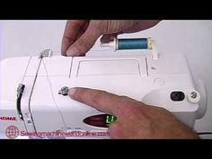 great video tutorial for threading machine| Janome Sewing Machine Threading