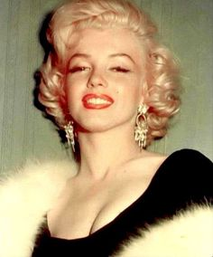 """""""Marilyn Monroe at the Miss Press Club party, 1953. """""""