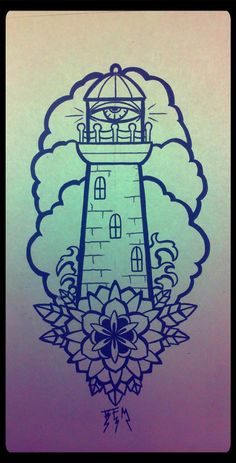 lighthouse tattoos | Pinterest: @Skateboardz ☮