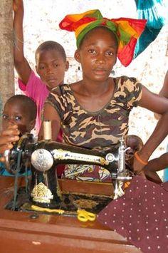 Liberia - Dressmaker's Shop