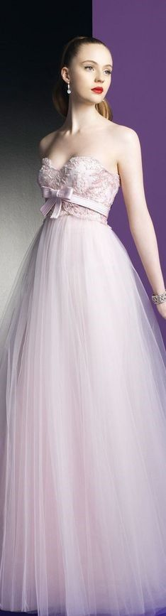 Zuhair Murad for Rosa Clara 2014 (Prettier without the bow) Evening Dresses, Prom Dresses, Formal Dresses, Dresses 2014, Bridesmaid Dresses, Beautiful Gowns, Beautiful Outfits, Bridal Gowns, Wedding Gowns
