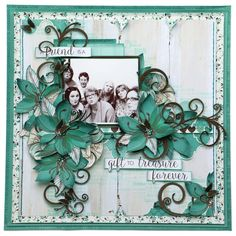 Layout designed for the Merly Impressions Retreat July using Sea Breeze Kaisercraft collection. Love Scrapbook, Scrapbook Background, Mixed Media Scrapbooking, Scrapbook Layout Sketches, Vintage Scrapbook, Wedding Scrapbook, Scrapbook Designs, Scrapbook Albums, Scrapbooking Layouts