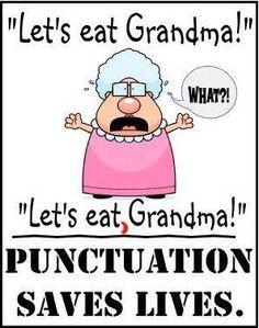 """""""Let's eat Grandma!"""" What?!"""