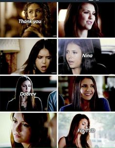 I can't believe you're leaving the Salvator brothers! I'm gonna miss you SO MUCH Nina!! You're the best!