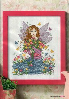 Springtime Fairy - 1/3 PUNTADITAS (pág. 92) | Aprender manualidades es facilisimo.com