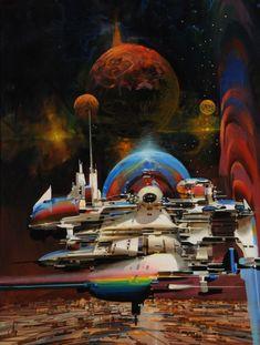 Space Paintings – John Berkey ConceptArt Bonetech3d