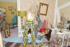 Kendall Walters    Alice + Olivia's Get Into Our Pants! Campaign