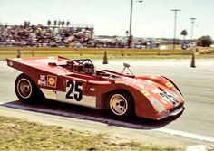 Jacky Ickx in the Ferrari 312PB ~ 1971 12 Hours of Sebring