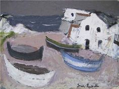 Anne Redpath | Spanish Fishing Boats