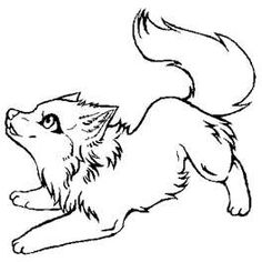 wolf coloring pages 08