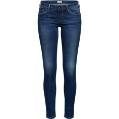 Skinny Jeans 'SOHO' ❤ liked on Polyvore featuring jeans, pants, bottoms, skinny jeans, cut skinny jeans, blue jeans, skinny fit jeans and denim skinny jeans