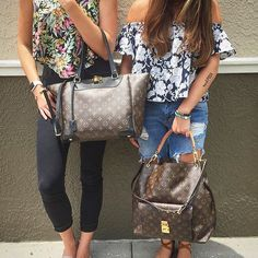 Floral Friday's with Louis Vuitton! Shop all Louis Vuitton handbags on…