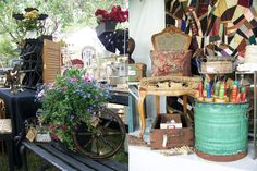 The Hanky Dress Lady: Old Glory Antiques Fair - Littleton, Colorado