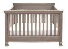 Million Dollar Baby crib - Weathered Grey