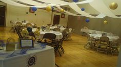 Relief Society birthday dinner that I decorated for.