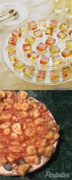 """Whether you call them """"dessert gelees"""" or """"jello shots,"""" these things are pretty decent."""