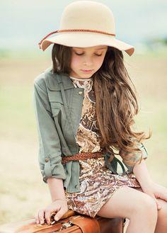Clara Dress in Gold by Joyfolie at Return To Children's Boutique | Return To Eden Children's Boutique
