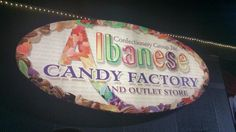 Albanese Candy Factory Merrillville Indiana. This would be a great place to take a tour.