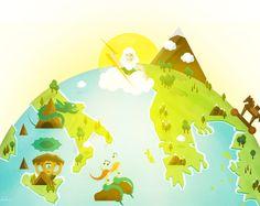 """Mein @Behance-Projekt: """"Journey of Odysseus"""" https://www.behance.net/gallery/51446899/Journey-of-Odysseus"""