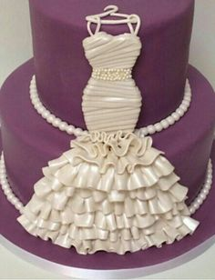 Amazing cake for the Bridal Shower