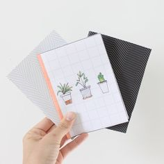 quickly craft your own paper notebooks with some thread, needle and paper. Plus get free printable covers for your books.