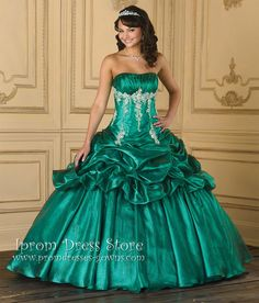 Ball Gown Sweetheart Neckline Floor length Sleeveless Tulle Quinceanera Dress with Beading (SAS412) [SAS412] - US : Prom Dresses and Quinceanera Dresses - Iprom Dress Store, Iprom Dress Store