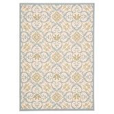 Found it at Wayfair - Carribean Ivory & Blue Indoor/Outdoor Area Rug