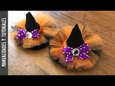 Tutorial, Broches de Sombrero de Brujas para el Cabello - Los290ss - YouTube
