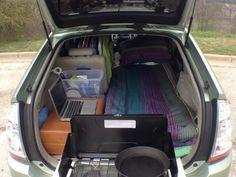 Man converts Prius into full-time home, calls it #HotelPrius (Video)