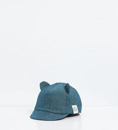 Denim cap with ears-View All-ACCESSORIES-BABY GIRL | 3 months-3 years-KIDS | ZARA United States