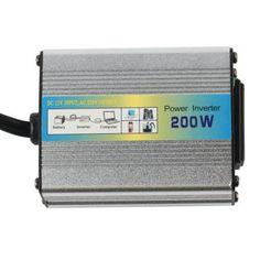 Car Power Inverter Auto Converter Dc Ac 12v Charger Usb 220v Adapter 110v 1200w