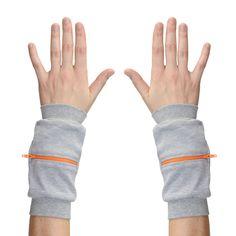 Wrist Zips - Wrist Wallet - Elephant Nibbling on a Carrot