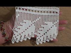 Tığişi Dantel Yaprak Modeli, & Crochet - YouTube