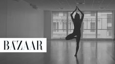 A Yoga Flow with It Girl Chelsea Leyland: BAZAAR joined model and street-style star Chelsea Leyland at Bandier to film her go-to yoga flow in a new bodysuit Leyland designed to bring awareness to epilepsy.
