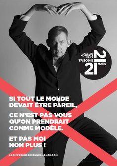 Journée Mondiale de la Trisomie 21: une nouvelle campagne initiée par des parents - Famili.fr