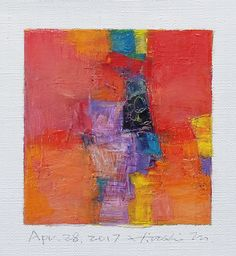 https://flic.kr/p/TGxgbG | apr282017 | Oil on canvas 9 cm x 9 cm © 2017 Hiroshi Matsumoto www.hiroshimatsumoto.com