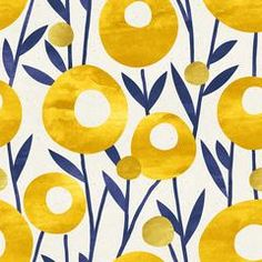Seamless floral pattern on paper texture. Dandelion background - buy this stock illustration on Shutterstock & find other images. Pottery Painting, Fabric Painting, Textures Patterns, Print Patterns, Motif Art Deco, Motif Floral, Boho Hippie, Pattern Wallpaper, Painting Inspiration