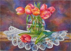 Spring Performance, Watercolor for sale by  Laura Leeder
