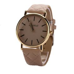 Feature: This is a good present for your children and relatives and friends who you love. Fashionable, very charming for all occasions. Special dial design draws much attention from buyers. Amazing looking watch. Precise movement. Solid stainless steel back cover. Precise time and keep good time. Battery included in the watch. PU Leather wrist band ...