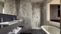 Les #projets du Groupe Porcelanosa: l'Hôtel Terhills, Belgique. @urbateksocial dans un hôtel de charme