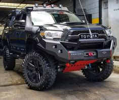 67 New Ideas For Jeep Truck Toyota Tacoma Toyota Hilux, Toyota Tacoma Trd, Toyota 4x4, Toyota Trucks, Toyota Tundra Lifted, Tacoma Truck, Jeep Truck, Tacoma Wheels, Big Trucks