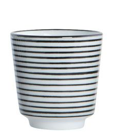 34e0db52e76 Pen Stripe By Hand Eierbecher Streifen horizontal One Size