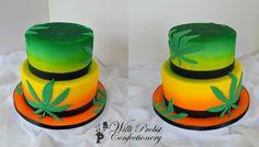 https://flic.kr/p/wyT5uN | Rasta style wedding cake