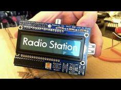 Raspberry Pi Internet Radio - Part 1 Computer Projects, Robotics Projects, Arduino Projects, Electronics Projects, Radios, Radio Internet, Raspberry Pi Computer, Pi A, Rasberry Pi