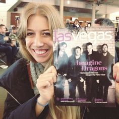 #BYUcomms alumna documents life on tour with Imagine Dragons