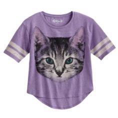 Mudd Kitten Hi-Low Tee - Girls 7-16