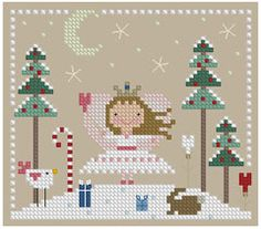 The Floss Box | The Sugar Plum Fairy Cross Stitch