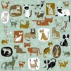 ©Richard Faust - 'Cat Pattern' www.richardfaust.com